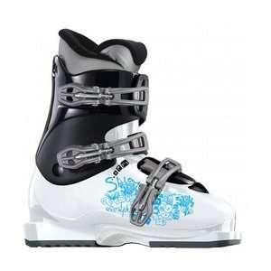 Salomon Kaid T3 Youth Ski Boots White/Black Sports