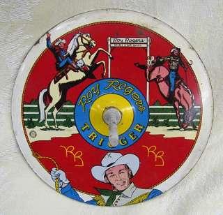 VINTAGE WESTERN COWBOY ROY ROGERS HORSESHOE GAME SET