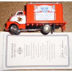 Matchbox Collectibles Budweiser Beer 1948 GMC Die Cast Beer Truck
