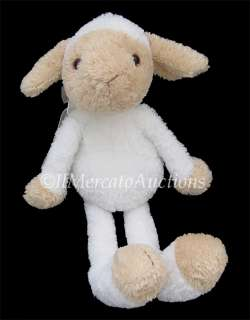 GUND Floppy LAMB Stuffed Plush TOY White SHEEP 41839