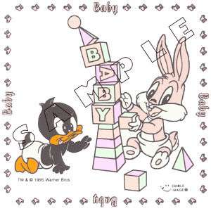 Baby looney tunes cake kit set topper tweety edible new for Baby looney tune decoration