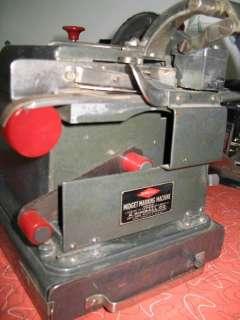 Midget Marking   Vintage Office Machine w/ print type