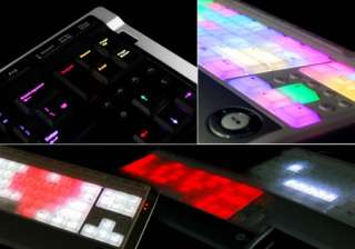 luxeed illuminated LED keyboard