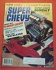 SUPER CHEVY MAGAZINE JAN/1984SUPER QUIZ 10 RAREST CHE