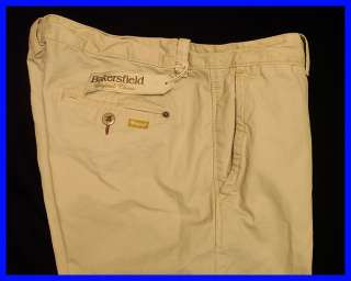ORIGINAL PENGUIN Beige BAKERSFIELD Vintage Look CHINOS Casual Pants $