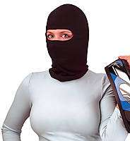 Balaclava Full Face Mask Black PREMIUM   Poly/Cotton Blend   Pack of 2