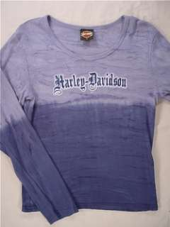 HARLEY DAVIDSON Flaming Gorge Long Sleeve T Shirt (Womens Large
