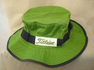 NEW 2010 TITLEIST BUCKET GOLF HAT GREEN SMALL / MEDIUM