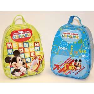 Disney Mickey Mouse Clubhouse Backpack Tin Carry All Toys & Games