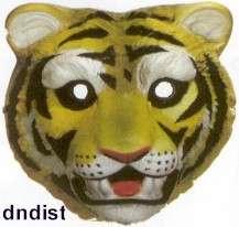 New Plastic Animal Face Mask Bengal Tiger Masks BENGALS