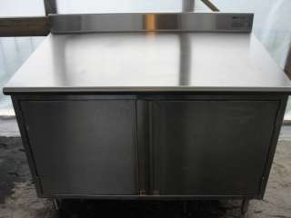 NEW Eagle Stainless Steel prep table CBH3048SE BS