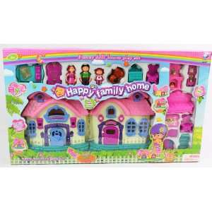 Big Size My Sweet Happy Family Playhouse Battery Operated