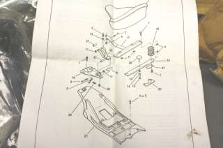 90372 93A Harley Police Solo Seat Mounting Kit