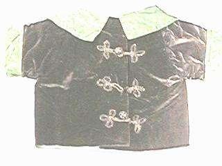 Early Childs Velvet Jacket 4 Teddy Bear or Large Doll