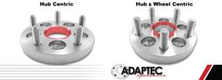 VW 4x100 to 5x100 One Piece Wheel Adapter   USA Made   Set Of Two
