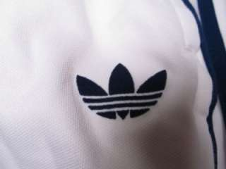 Adidas Originals Beckenbauer Track Pants WHITE/BLUE XL