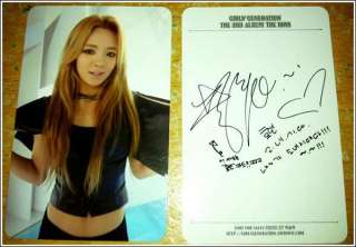 SNSD Girls Generation The Boys Photo Card Hyoyeon