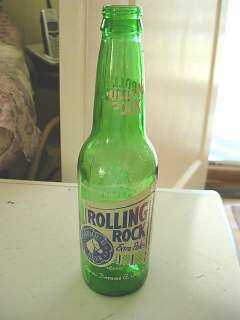 Rolling Rock Beer Bottle Latrobe Pa 1939