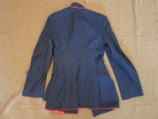 WW2 Era USMC Marine Corps Dress Blues Uniform Patches Lanyard Covers