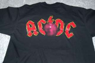 NEW GIANT ROCK AC/DC BAND SHIRT teachers pet MENS XL