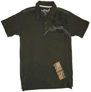 Mens Planet Earth Talladega SS Polo Shirt Small Slimfit