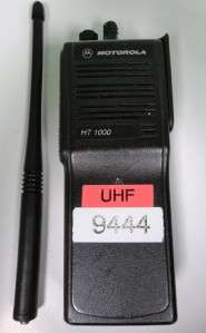 HT 1000 UHF 16 Channel 2 Way Portable Radio HT1000 H01SDC9AA3BN