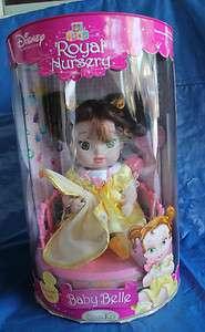 Disney Princess Royal Nursery Baby Bell Porcelain Doll NIB