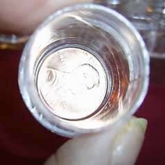 10 clear plastic screw top containers PERFECT pill box