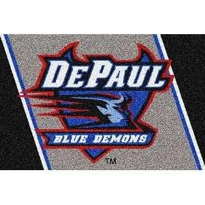 DePaul Blue Demons 33 x 45 Team Door Mat: Sports