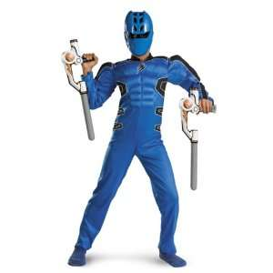 POWER RANGER BLUE MUSCLE 7 8 Toys & Games