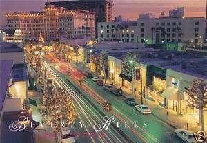 Post Card Rodeo Drive Beverly Hills California LA310