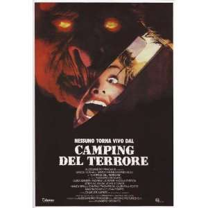 Camping del terrore Poster Movie Italian (11 x 17 Inches   28cm x 44cm