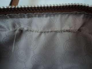 Michael Kors Knox Joan Large Croco Satchel Peanut Leather 30T1SKXS3N $