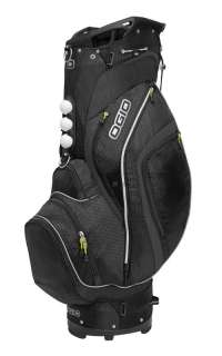 New Ogio 2012 Torque Golf Cart Bag (Black Tech)