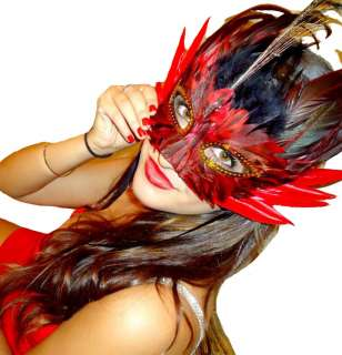Feather Mask Halloween & Masquerade Masks Four Colors Very High