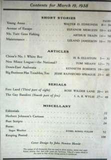 1938 March 19 POST Magazine   Chinas No. 1 White Boy
