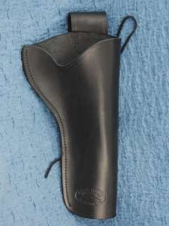 Barsony Black Leather Holster RUGER SUPER BLACKHAWK 6