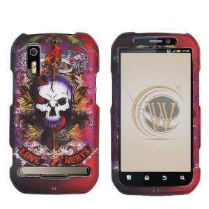 VMG Lion Tattoo Skull Design Hard 2 Pc Plastic Snap On Case Cover for