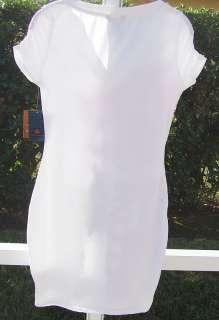 DEREON BEYONCE SUMMER T SHIRT GEM DRESS COVER UP NEW