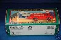 ERTL Texaco Bank 1949 White Tilt Cab Tank Truck NIB