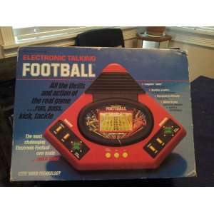 ELECTRONIC TALKING FOOTBALL Toys & Games