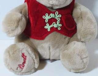 Gund Exclusive LINDT SANDY BROWN TEDDY BEAR Stuffed Plush Animal 44549