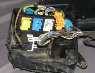 OEM BMW K1200RS Main Wire Wiring Harness Fuse Box