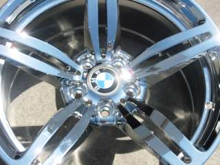 NEW 19 FACTORY BMW M6 M5 CHROME OEM WHEEL RIM STYLE # 167   1 SINGLE