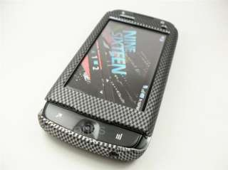 SIDEKICK 4G TMOBILE CARBON FIBER DESIGN HARD COVER CASE