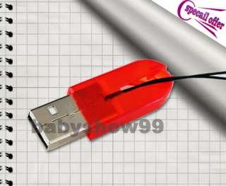 Mini USB 2.0 MicroSD SDHC T Flash TF Memory Card Reader