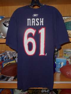 Rick Nash Columbus Blue Jackets Vintage Reebok Shirt 2XL