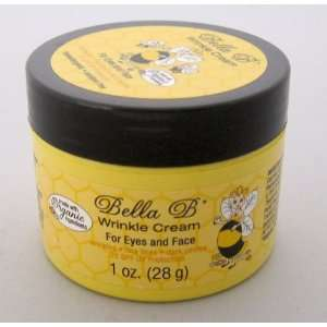 Bella B Wrinkle Cream for Eyes and Face, 1 oz. Jar Beauty