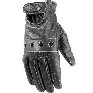 River Road Womens Swindle Distressed Black Gloves   X
