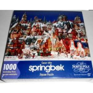 The North Pole Series   1000 Piece Jigsaw Puzzle Toys & Games